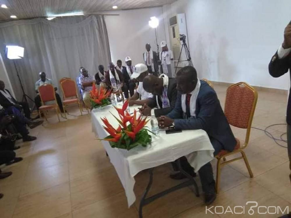 Côte d'Ivoire : Première assemblée générale constitutive des anciens de la Fesci, Ahipeaud Martial désigné pour conduire le mouvement