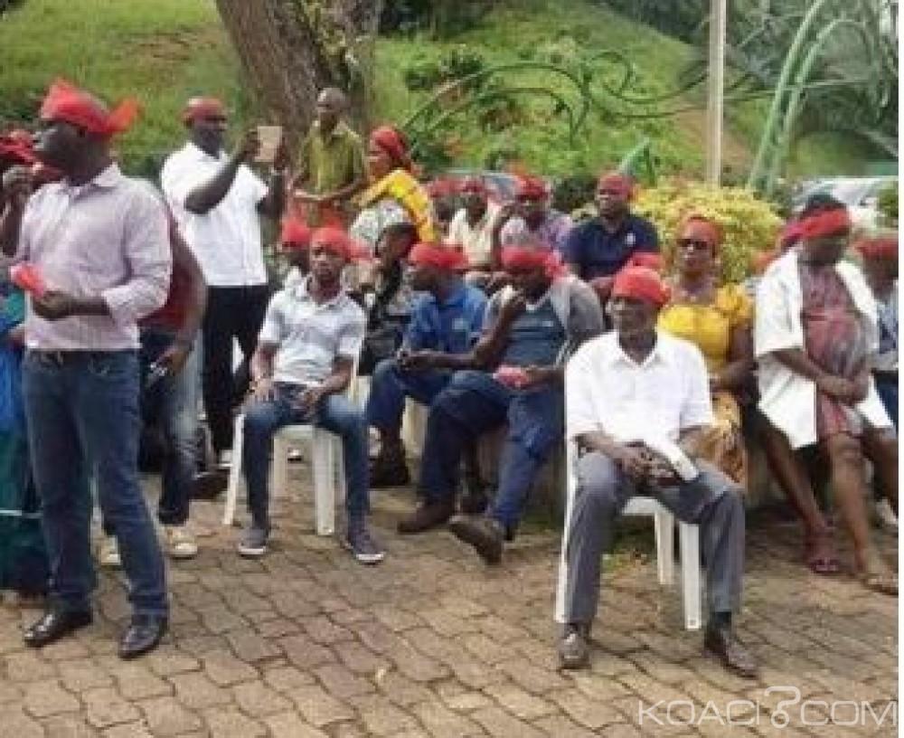 Côte d'Ivoire: Mécontents, les agents de Frat Mat font un sit-in au sein de l'entreprise