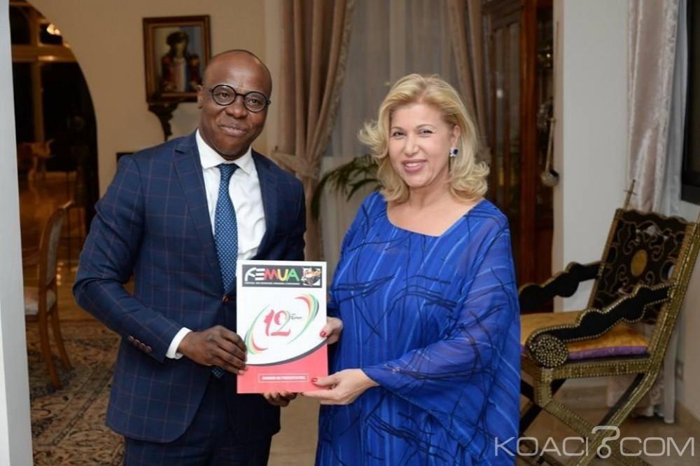 Côte d'Ivoire : FEMUA 2019, Dominique Ouattara accepte d'être la marraine de la 12è édition