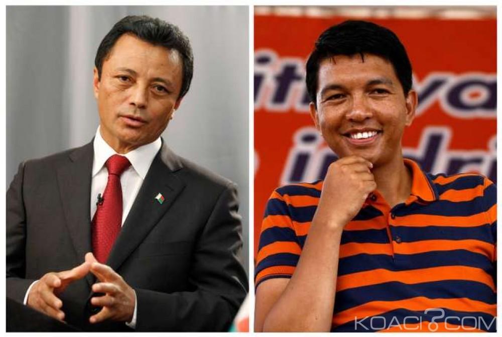 Madagascar : Présidentielle, la cour constitutionnelle qualifie Rajoelina et Ravalomanana pour un second tour