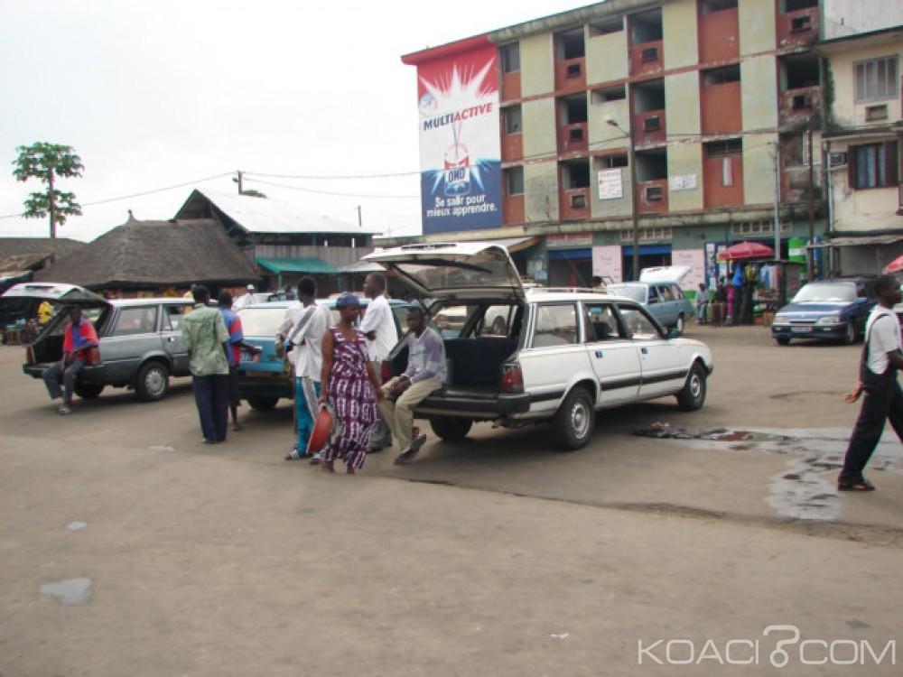 Côte d'Ivoire : La grève des transporteurs  contre le racket se poursuit, la circulation perturbée sur l'axe Abidjan-Bassam-Aboisso