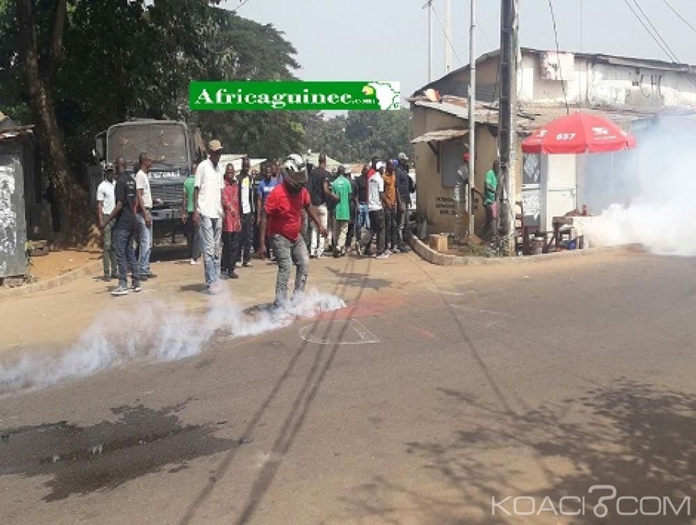 Guinée : Dixin, des manifestants dispersés par la police près du domicile de l'opposant Cellou Dallein