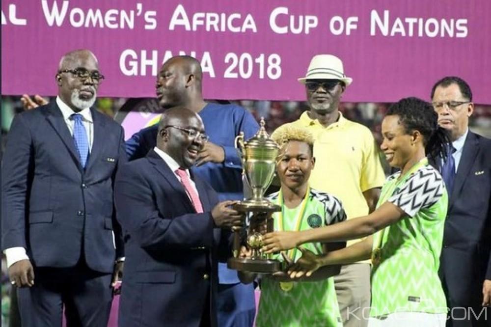 Nigeria : CAN féminine 2018, championnes, les Super Falcons rentrent à Abuja