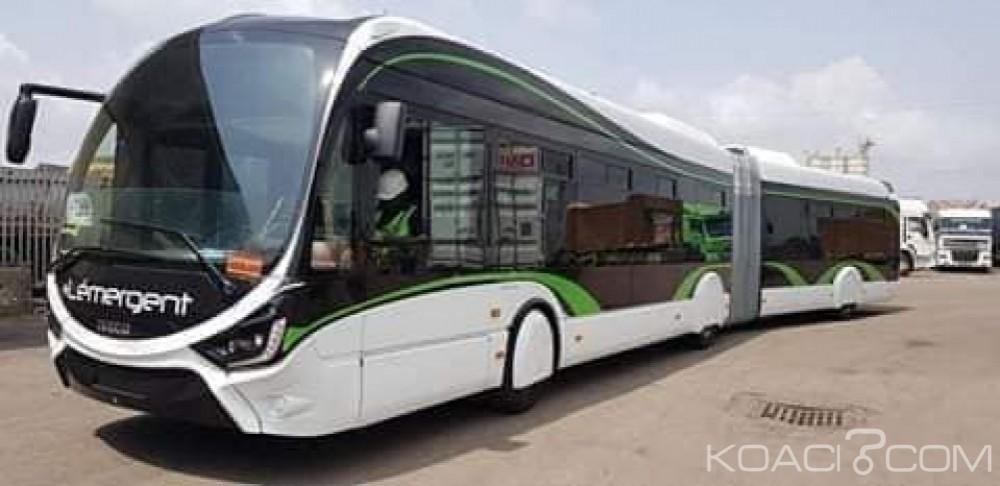Côte d'Ivoire : Les autobus articulés de la Sotra sont arrivés à Abidjan