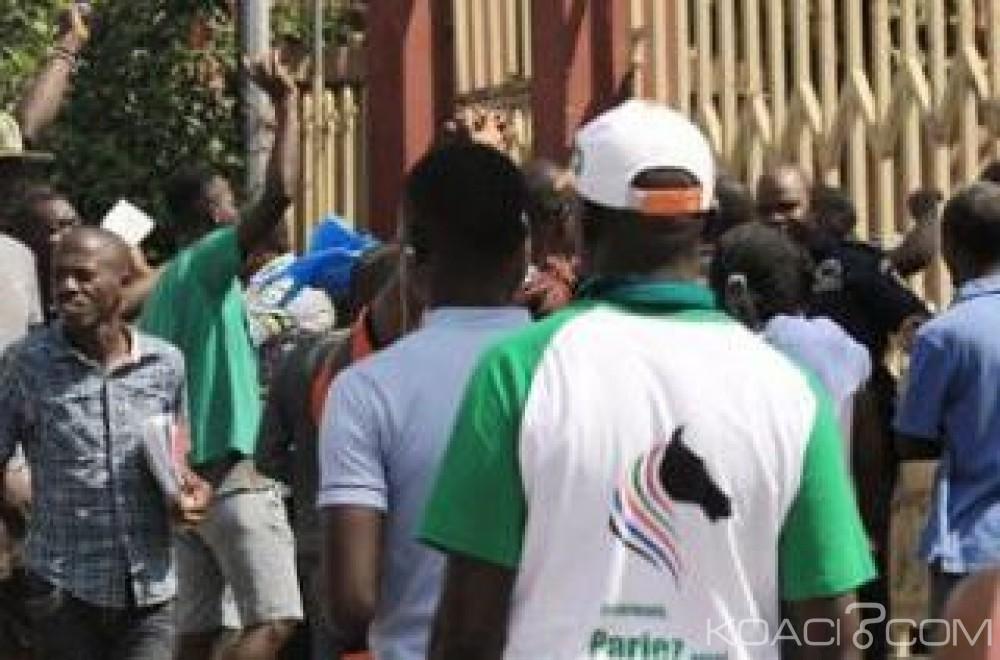 Côte d'Ivoire : Manifestation des ex-militaires au Plateau «Nous voulons notre argent au plus tard vendredi prochain»