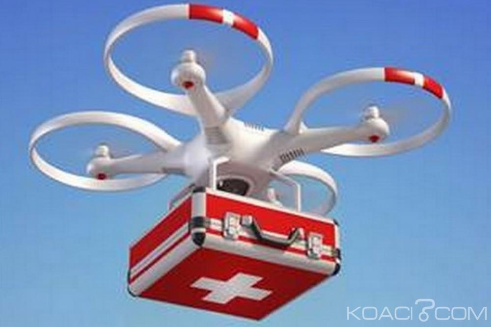 Ghana : Projet de livraison du sang aux régions isolées par des drones