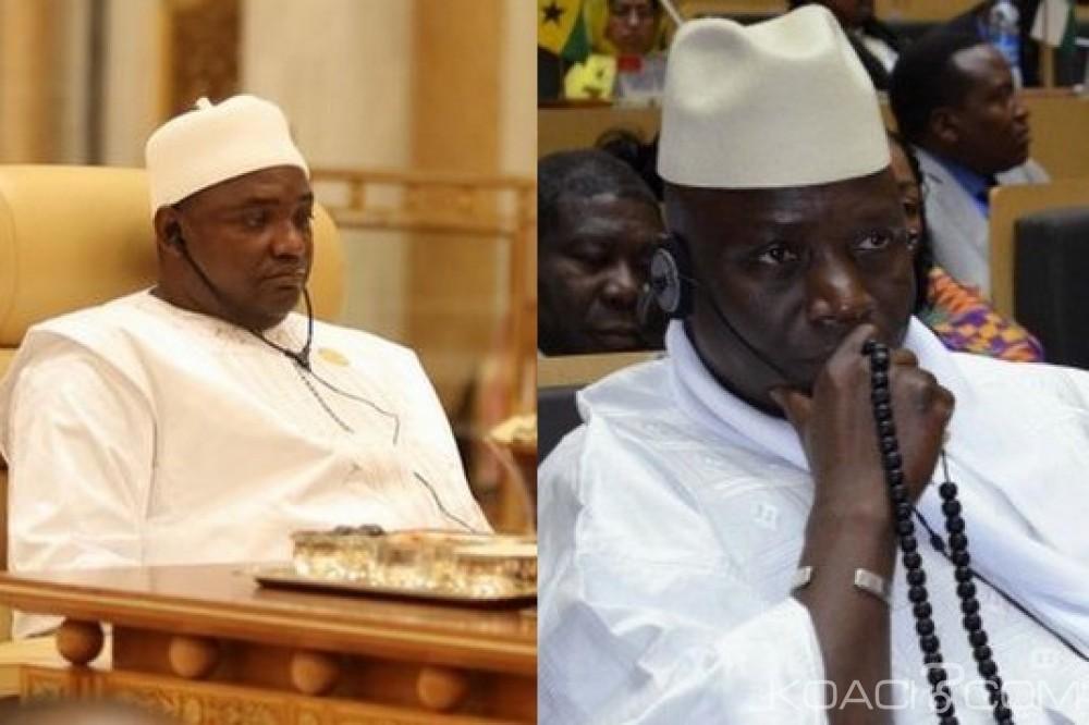 Gambie : Barrow critiqué pour avoir déclaré être plus fort avec l'ECOMIG que Jammeh