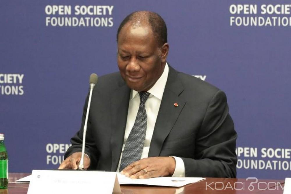 Côte d'Ivoire : Avant le débat présidentiel de haut niveau du conseil  sécurité, Ouattara assiste  à une rencontre sur l'Enseignement Supérieur