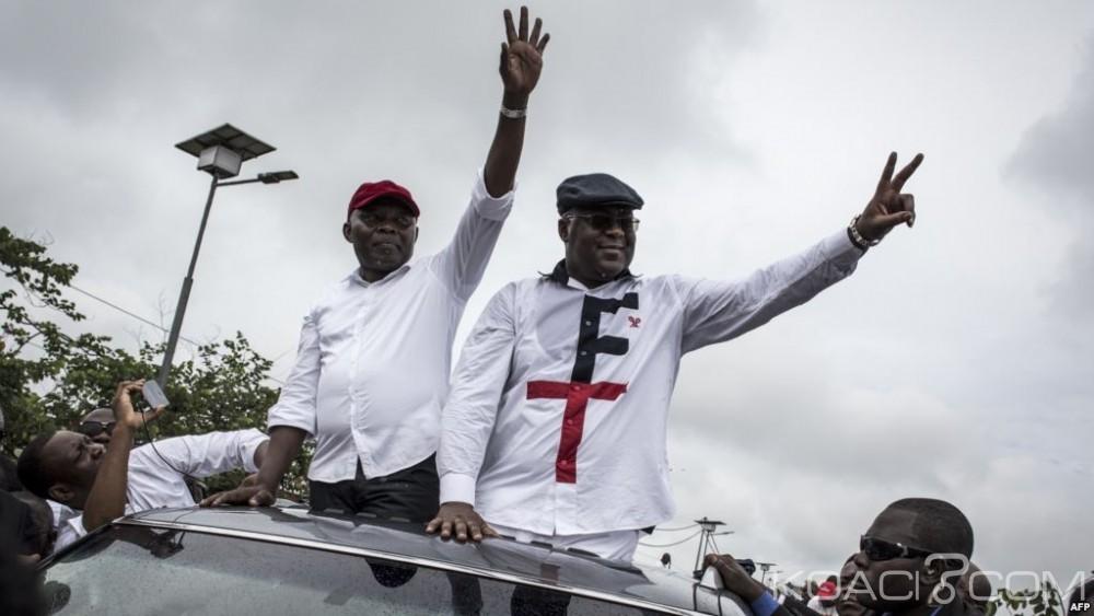 RDC : Campagne électorale, Félix Tshisekedi et Vital Kamerhe défendent leur ticket gagnant à Goma, Fayulu se lance seul à Béni
