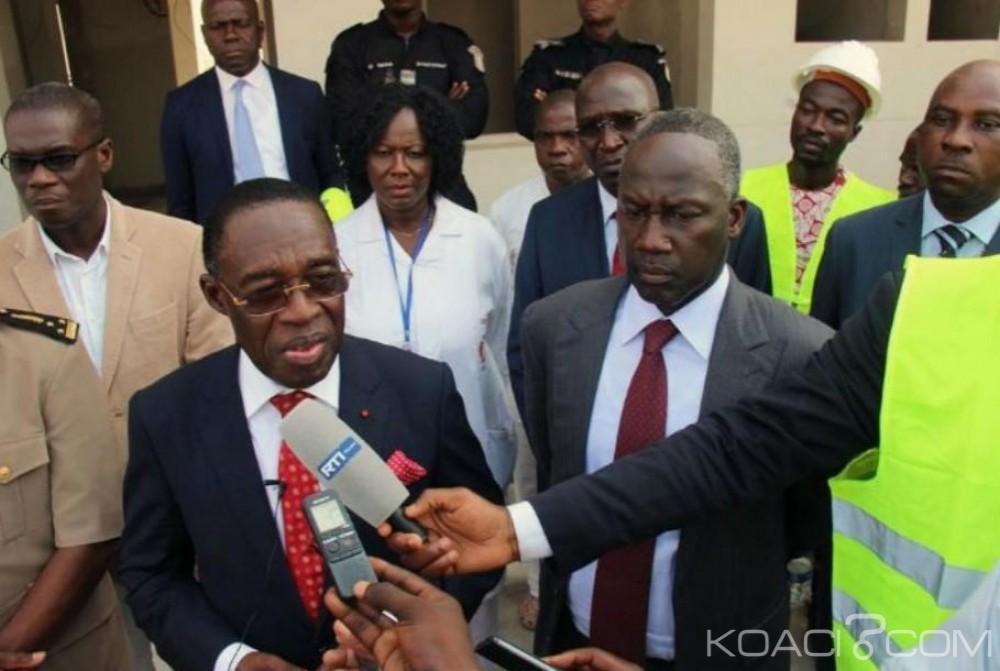 Côte d'Ivoire : Les travaux de restauration et de mise à niveaux des CHR de Korhogo, Yamoussoukro  et l'hôpital  d'Abobo réalisés  à 45%