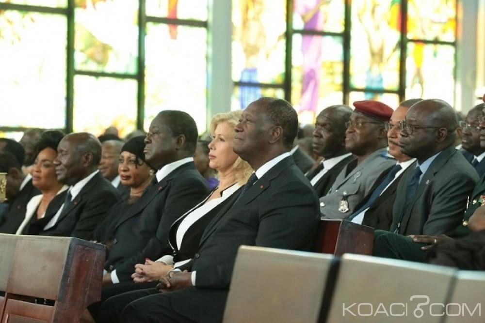 Côte d'Ivoire :  Commémoration du 25ème anniversaire du décès d'Houphouët Boigny, Bédié évite Ouattara à la Basilique de Yamoussoukro