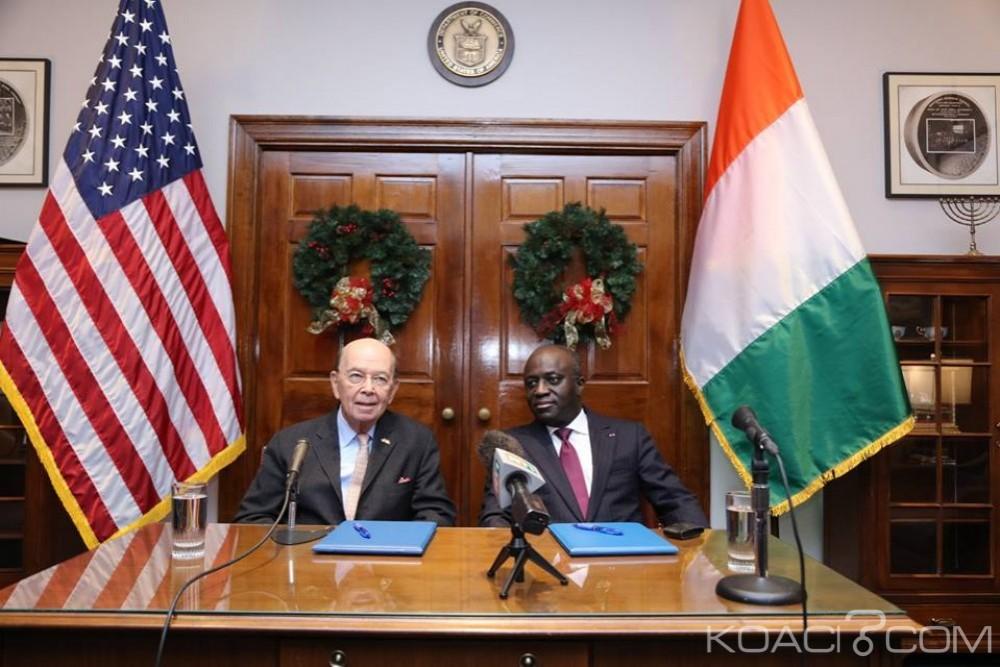 Côte d'Ivoire : Abidjan et Washington signent un protocole d'accord sur le développement et la mise en œuvre des projets stratégiques prioritaires