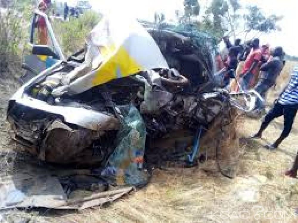 Guinée : 18 morts et 10 blessés dans la collision entre un minibus et un camion