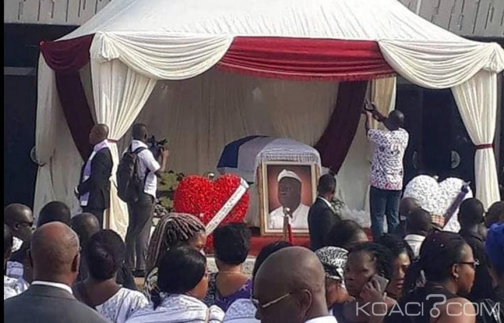Côte d'Ivoire: Décédé le 21 octobre dernier, Marcel Gossio inhumé ce jour à Abidjan, Gor et pro-Affi lui rendent hommage