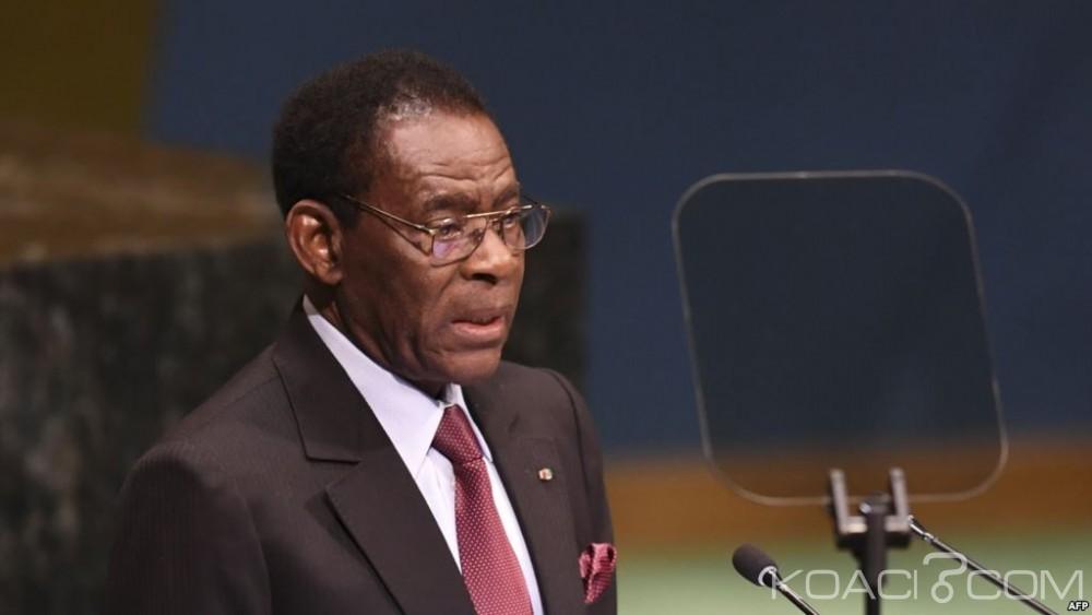 Guinée Equatoriale:  Obiang limoge  son  chef chef d'état-major des armées, deux mois après sa nomination