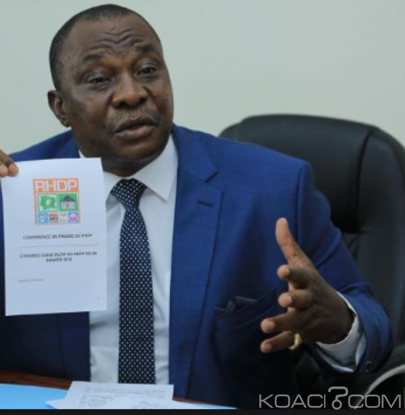 Côte d'Ivoire : Le PDCI porte plainte contre le RHDP et Adjoumani pour l'interdiction de l'utilisation et de la manipulation de son logo