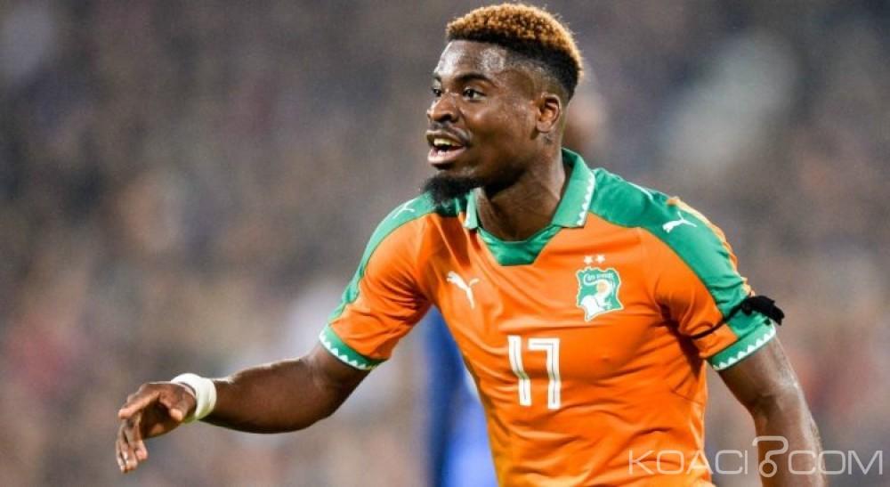 Côte d'Ivoire : Retrait de la CAN 2021, Serge Aurier choqué dénonce une affaire de politiciens