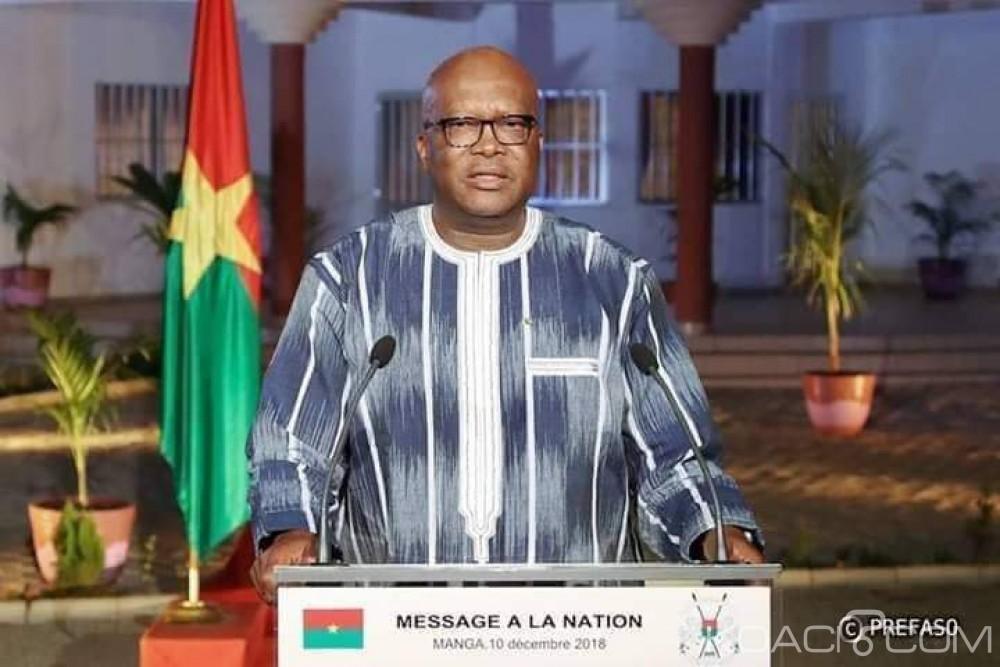 Burkina Faso : «Personne n'a le droit de s'attaquer à l'avenir de notre nation», clame le président Kaboré