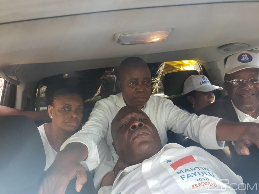 RDC  : Le cortège de Martin Fayulu perturbé par la police anti-émeute à Lubumbashi