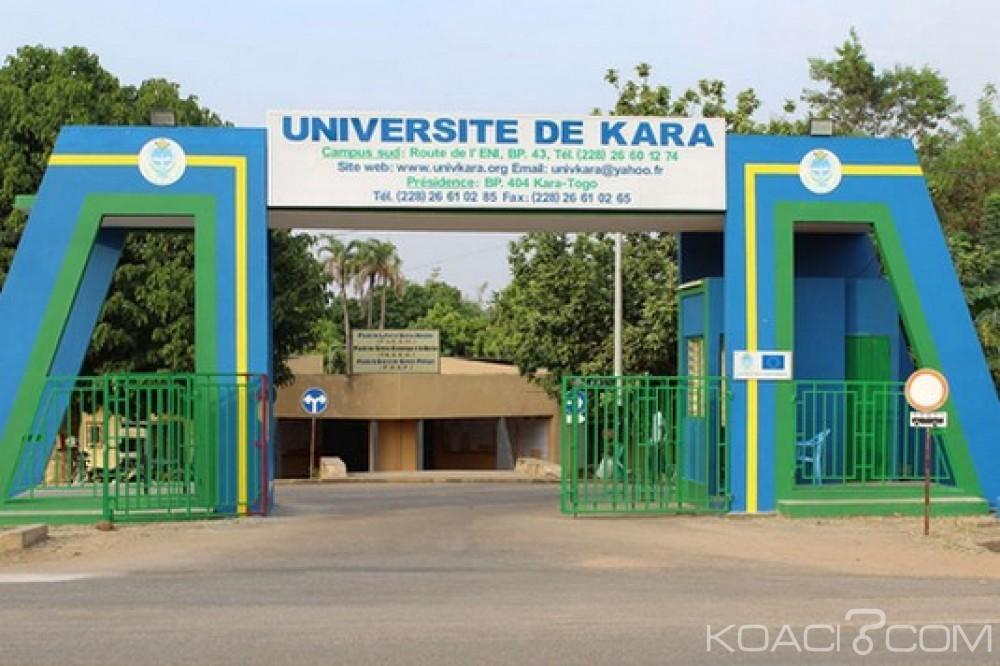 Togo : Université de Kara, suspension des activités pédagogiques
