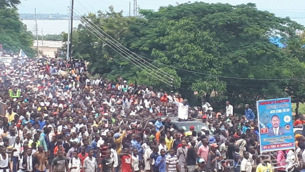 RDC : Violences à Kalemie en marge d'une campagne de Martin Fayulu, Félix Tshisekedi accuse ses partisans de perturber ses meetings