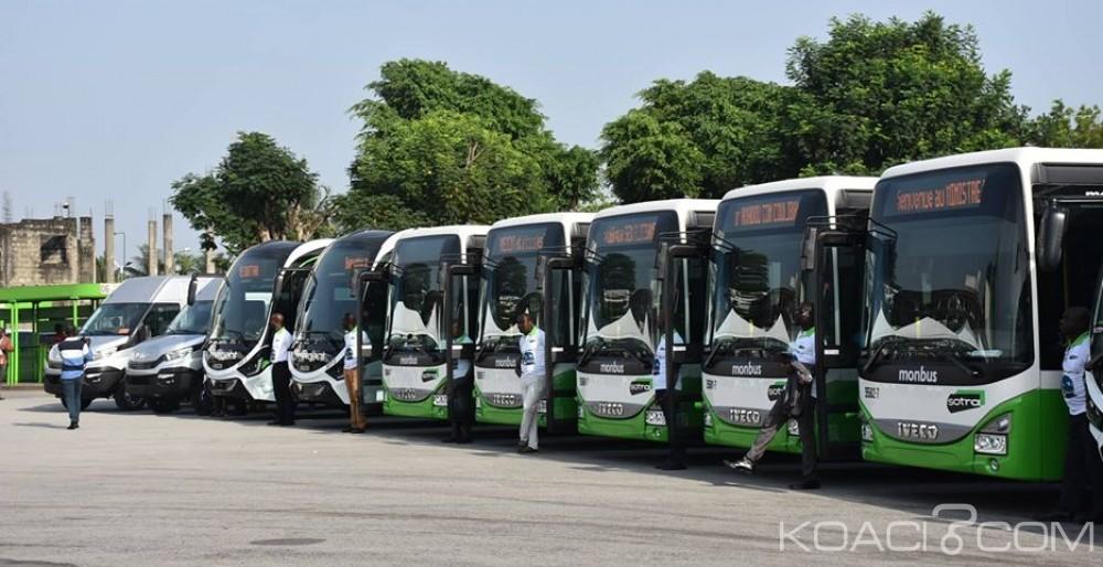 Côte d'Ivoire : La SOTRA réceptionne 450 autobus de marque Iveco fonctionnant au gaz naturel, 1155 automobiles reçus à la fin 2018
