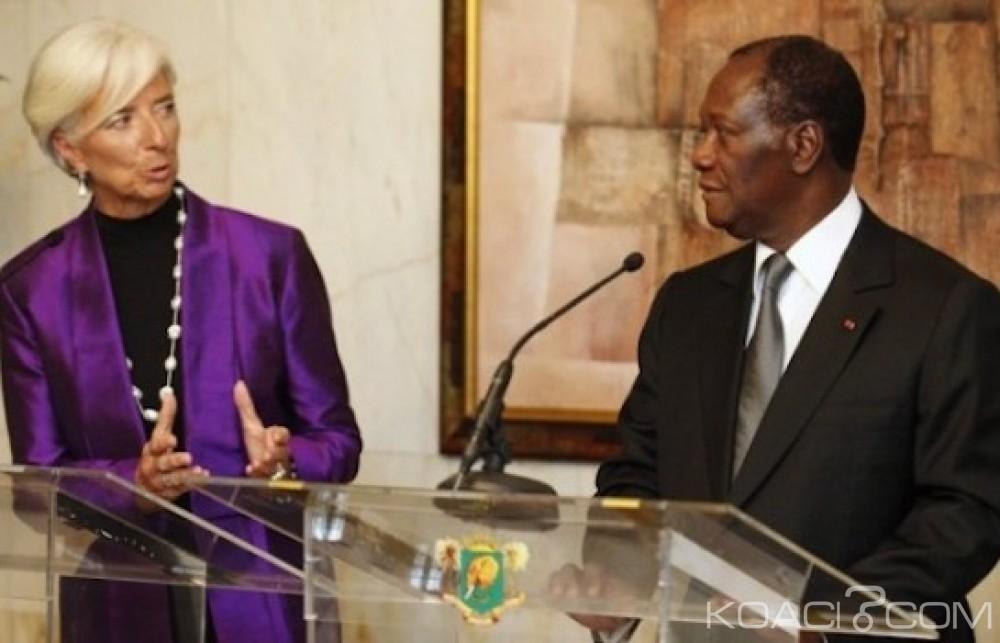 Côte d'Ivoire : Le FMI accorde un prêt  de 76 milliards FCFA et annonce que le déficit budgétaire du pays convergera  vers la norme régionale de l'UEMOA en 2019