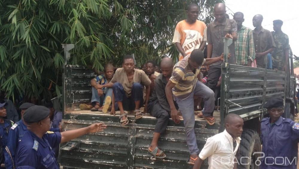 RDC:  36 miliciens Kamuina Nsapu condamnés à de lourdes peines pour des attaques à Kinshasa