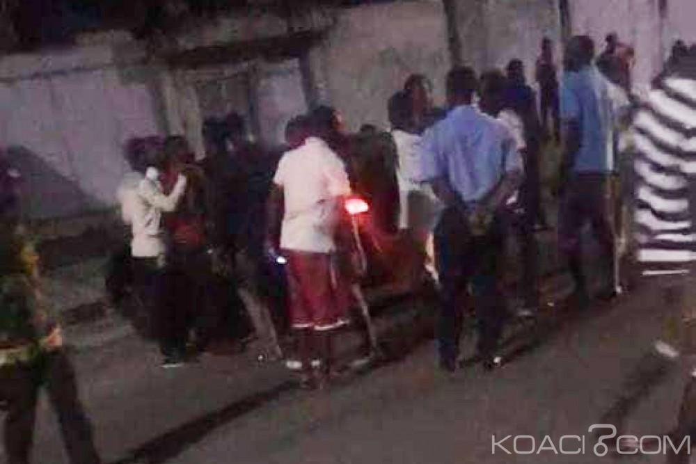 Côte d'Ivoire : À Angré, il meurt après s'être accroché au véhicule des policiers qui avaient pris ses pièces