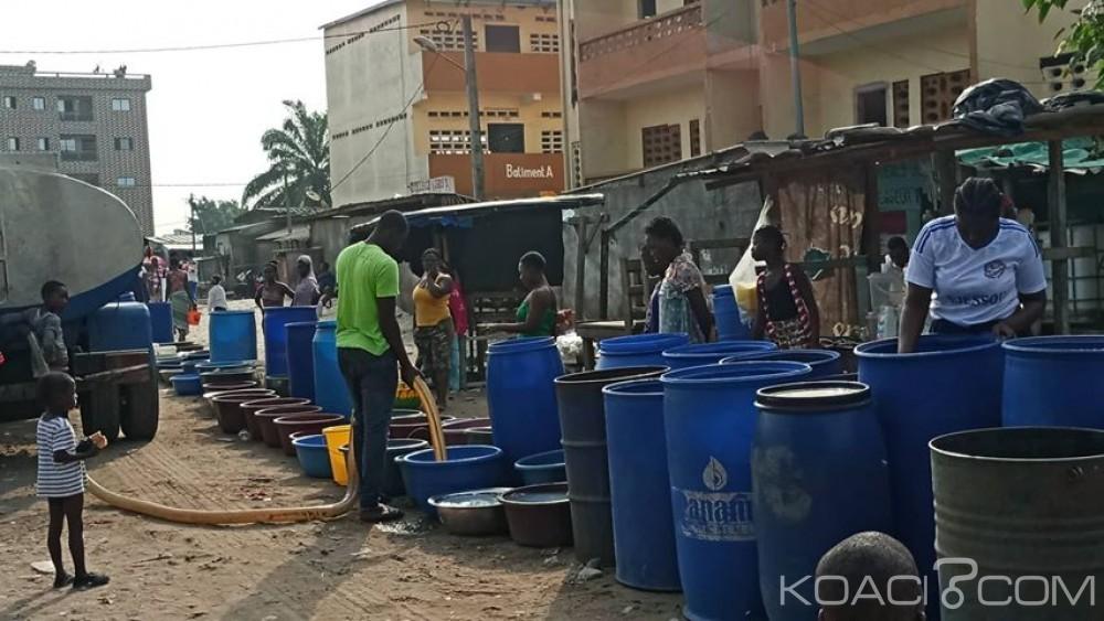Côte d'Ivoire :  Abobo, des habitants privés d'eau potable approvisionnées par l'ONEP d'autres abandonnées, des trafiquants soupçonnés