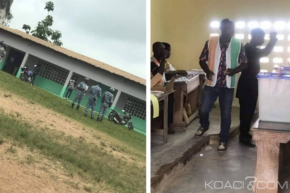 Côte d'Ivoire :  Reprise des locales 2018, top départ du vote, Lakota sous haute surveillance sécuritaire