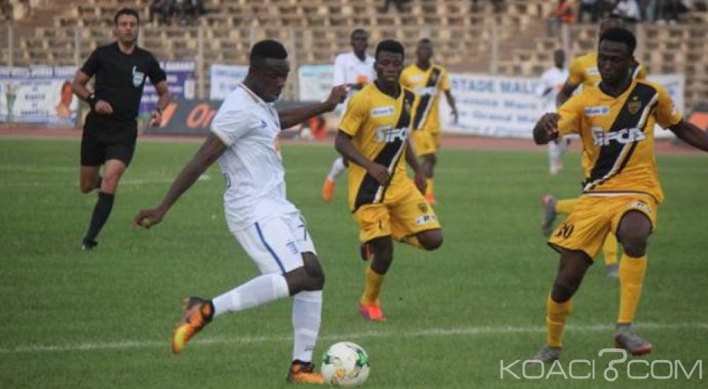 Côte d'Ivoire : Coupes africaines, l'Asec s'impose à Bamako (1-0), San Pedro accroche le nul en RDC (1-1), le Stade coule en Tunisie (3-0)