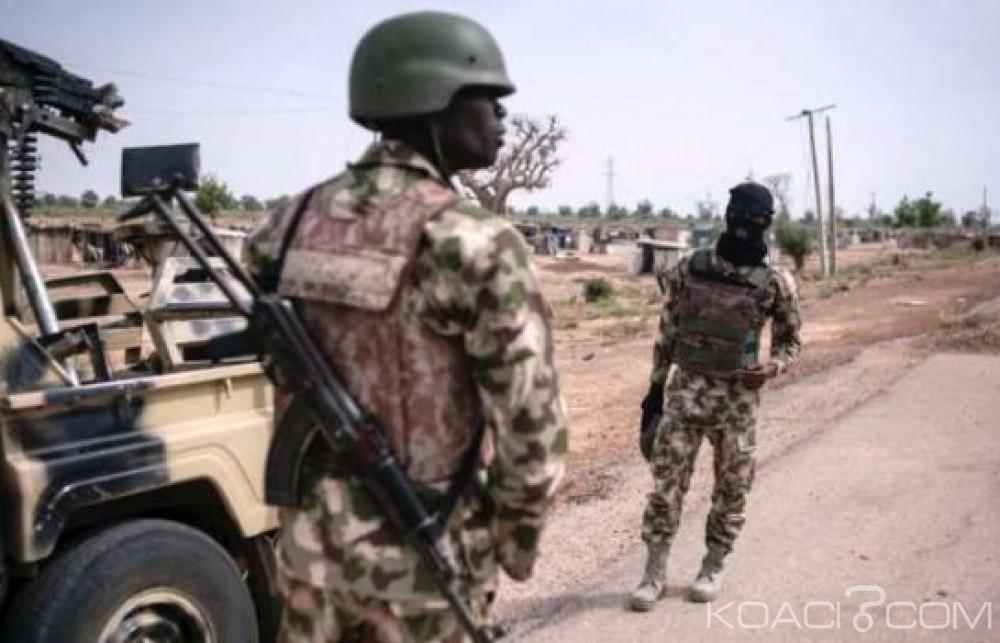 Nigeria  :  Deux soldats  périssent dans l'explosion d'une mine posée par Boko Haram