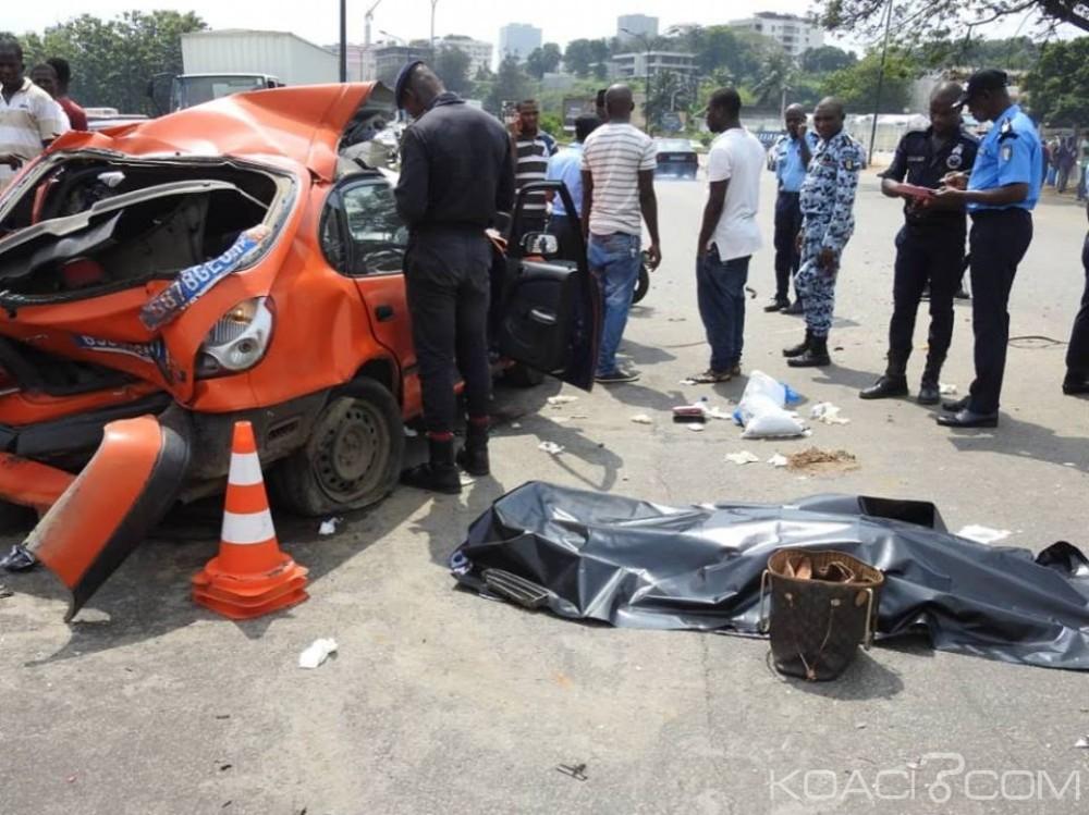 Côte d'Ivoire: Un carambolage entre quatre véhicules fait deux morts à Adjamé