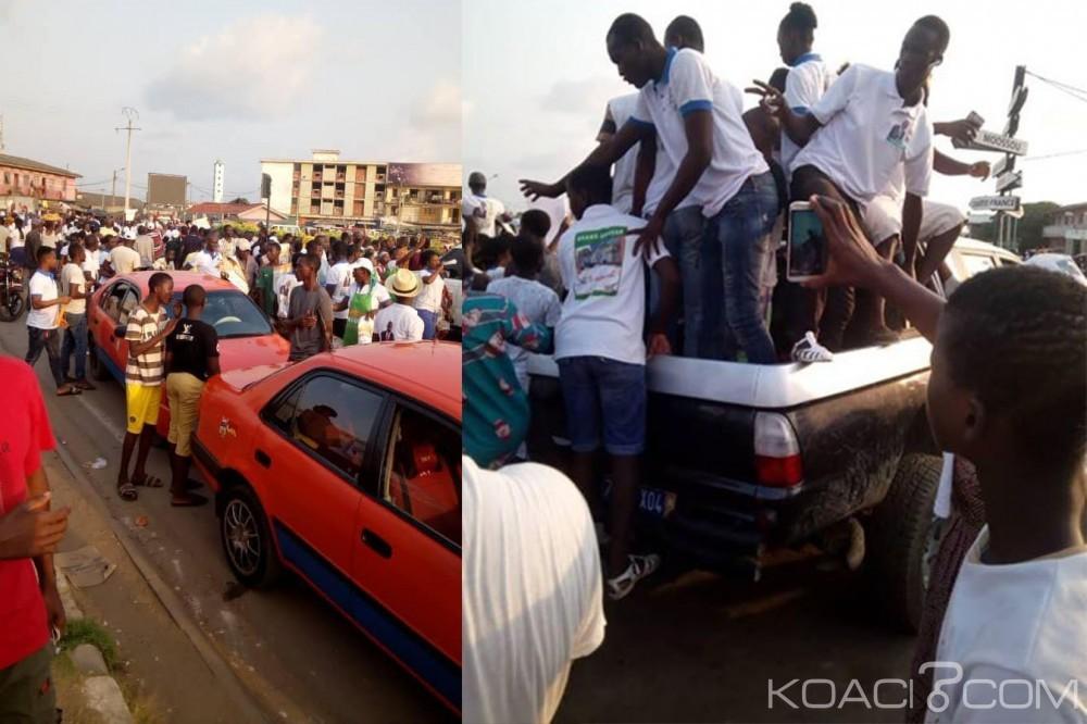 Côte d'Ivoire :  Grand-Bassam, déclaré vainqueur par la CEI, Moulot annonce que l'heure de la délivrance et du changement de la cité balnéaire est arrivée