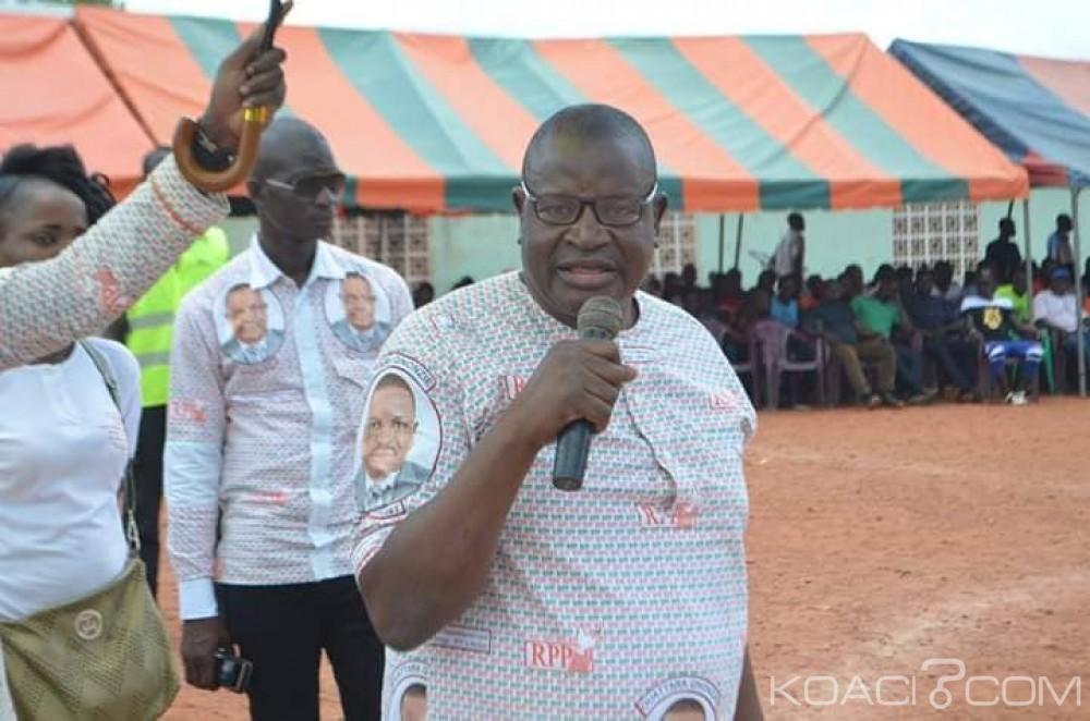 Côte d'Ivoire : Violences aux municipales, Ouattara Gnonzié «la paix et la stabilité que nous promet le parti unifié pour 2020, des larmes, du sang, la mort »
