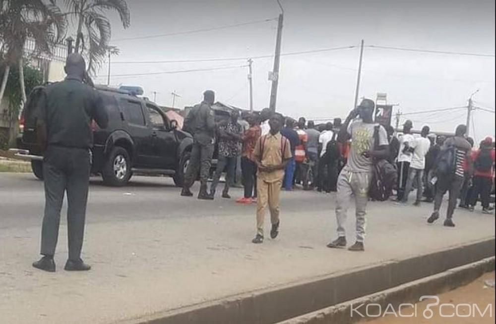 Côte d'Ivoire: Sentant les fêtes venir et leurs virements pas encore positionnés, des militaires du départ volontaire manifestent à Abidjan