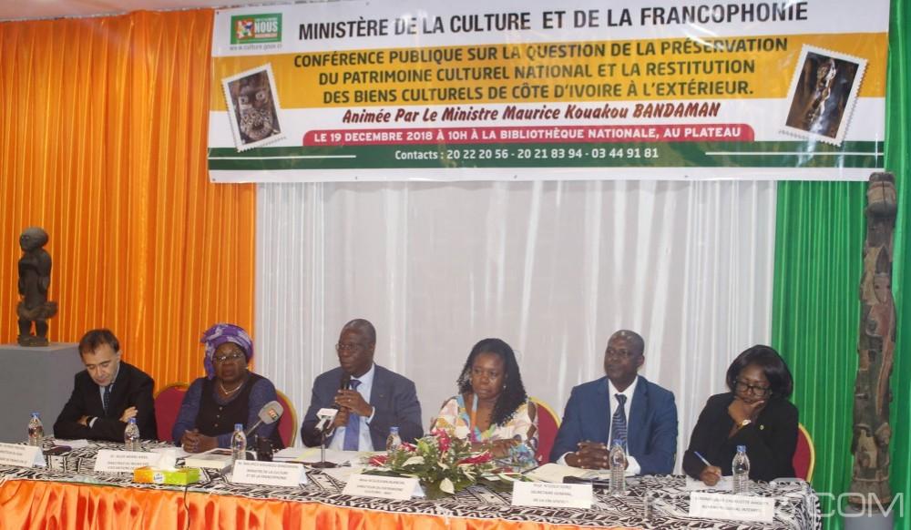 Côte d'Ivoire : Restitution des œuvres d'art africain, Abidjan recevra une première liste de 148 objets dans le courant de l'année 2019