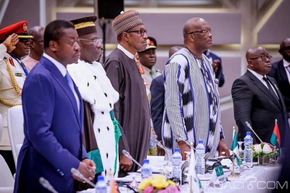 CEDEAO : 54è sommet au Nigeria, la Guinée-Bissau et le Togo au menu