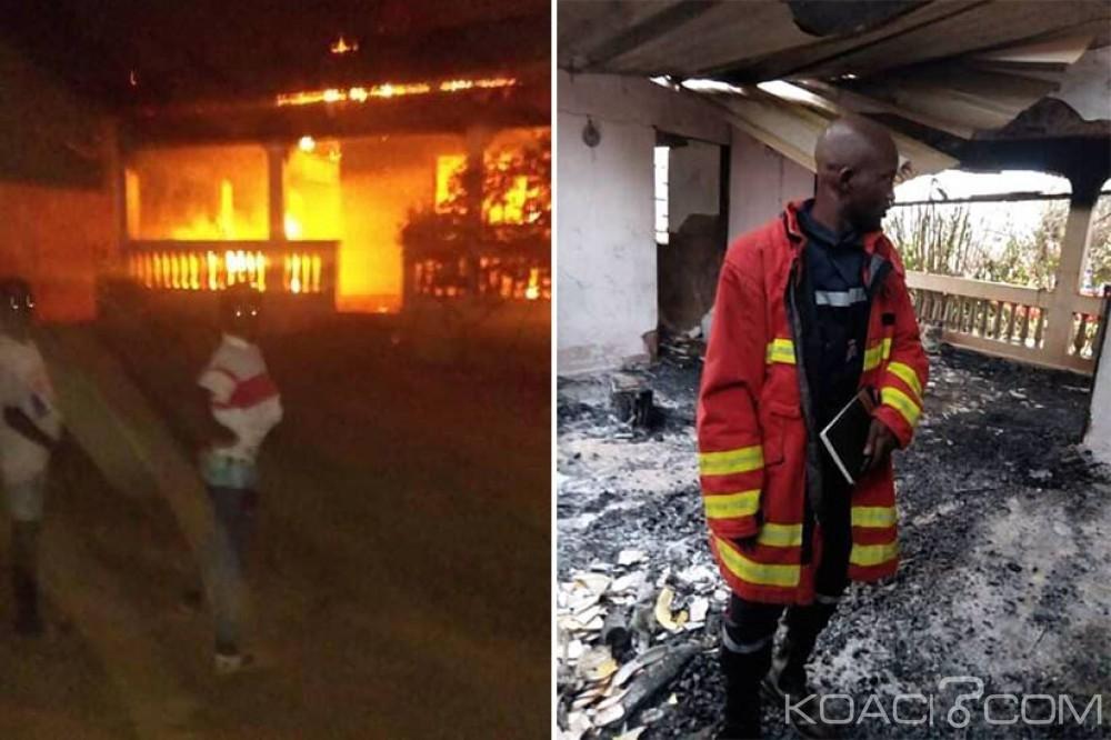 Côte d'Ivoire : En plein réveillon de Noël, le domicile d'un sous-préfet part en fumée