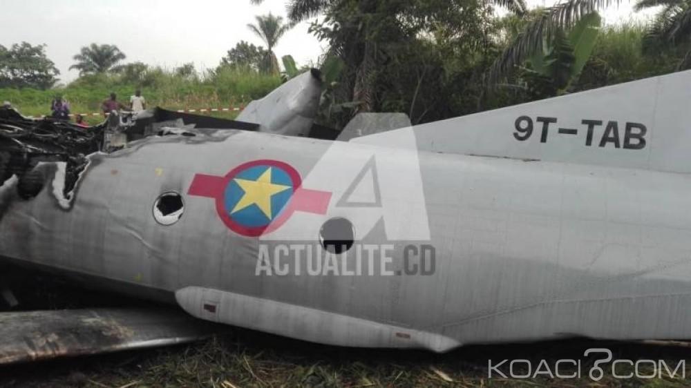 RDC  : Béni , 38 soldats grièvement blessés après l' atterrissage raté d'un Antonov