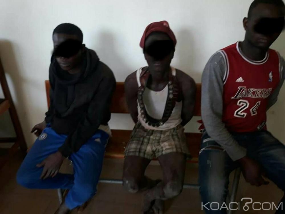 Côte d'Ivoire : Des individus suspectés de détenir des armes à  feu et voleurs présumés de motos interpellés