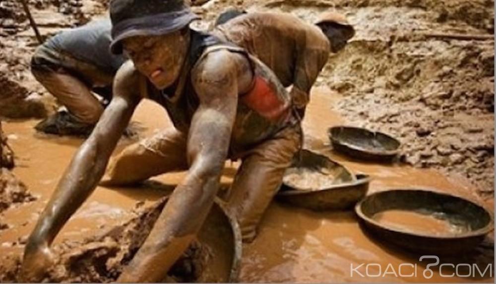 Côte d'Ivoire : Lancement des activités de la brigade de répressions des infractions au code minier (BRICM) contre les orpailleurs clandestins