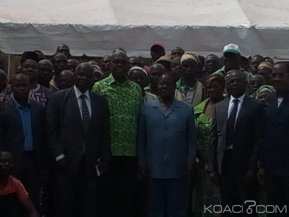 Côte d'Ivoire : Daoukro, Bédié rencontre des chefs de cantons et des structures du PDCI-RDA de la région du Poro