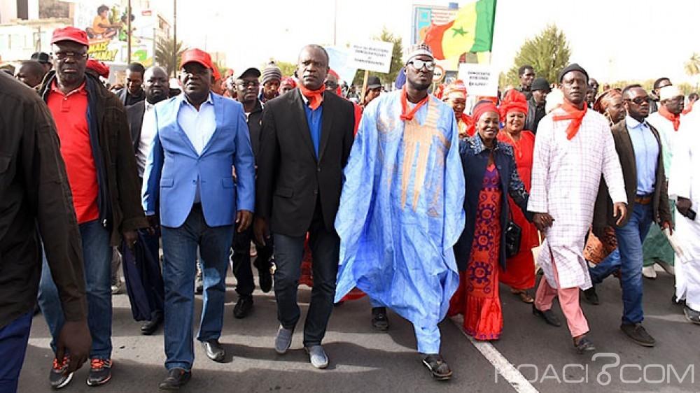 Sénégal: À 58 jours de la Présidentielle, l'opposition dans la rue pour exiger une élection «Âjuste transparente et démocratique»