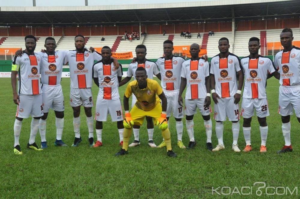 Côte d'Ivoire : L'Asec Battu par Bassam (0-2)  et le FC San Pedro vainqueur de la SOA (2-0) en matchs en retards, sont situés sur leurs prochains  adversaires en  coupes africaines