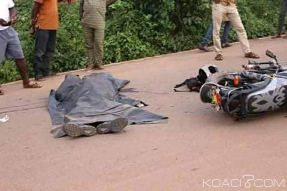 Côte d'Ivoire : Kokumbo, à moto, trois personnes périssent dans un accident