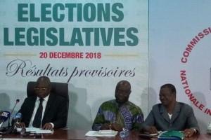 Togo : Résultats des législatives, UNIR majoritaire avec 59 élus, …UFC 6