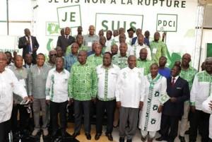 Côte d'Ivoire : Duncan, Achi, Donwahi, Amichia et d'autres cadres du PDCI créent le Mouvement PDCI-Renaissance et disent non à la rupture