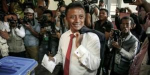 Madagascar : Présidentielle, Rajoelina en tête selon les résultats partiels, son rival Ravalomanana dénonce des «fraudes»